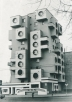 Residential building on Minskaya Street, 1980s, Bobruisk, Belarus © Belorussian State Archive of Scientific-Technical Documentation